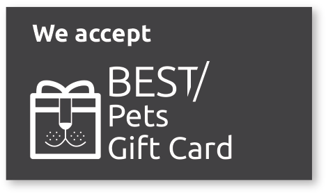 Pet merchant recommended by Best Pets Gift Card