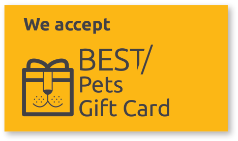 Best Pets Gift Card Badge