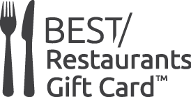 Best Restaurants Gift Card logo